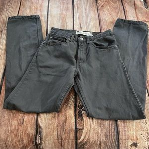 Levi red tag 505 Grey jeans.